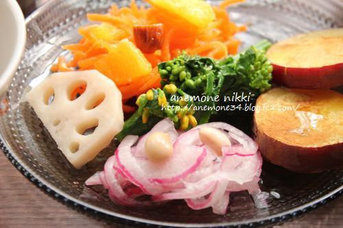 人参とオレンジのサラダ2