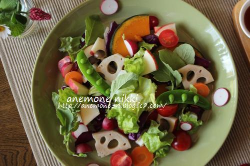 蒸し野菜ランチ3