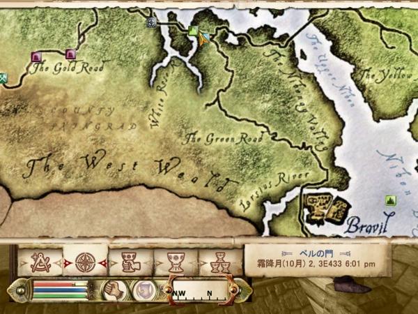 Oblivion魔法戦士プレイ日記 ブラブィルへの道