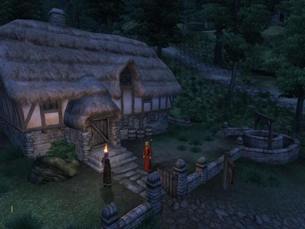 Oblivion魔法戦士プレイ日記 グリーンロード宿屋2