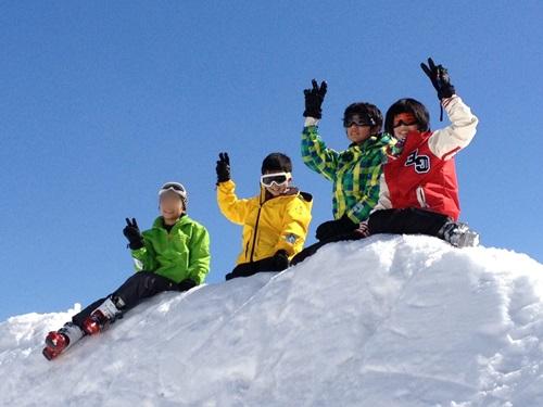 スキー写真20143月ぼかし