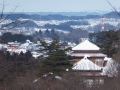 武家屋敷~東北方面を望む