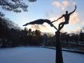 フィギュアスケート発祥の五色沼