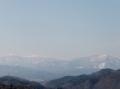 青葉山から見る船形連峰