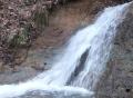水量が少しだけ戻った釜淵滝