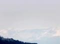 青葉山から見る蔵王連峰