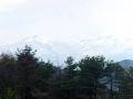 雪の船形山