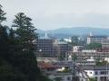 青葉山から見る番ヶ森方面