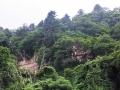 青葉城の崖