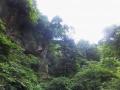 崖のある風景