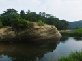 賢渕と青葉山