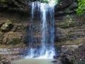 涼しい不動滝