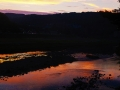 牛越橋の夕景