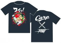 広島東洋カープ 大日本プロレス Tシャツ