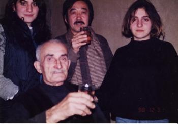 ゴリの祖父と孫娘たち
