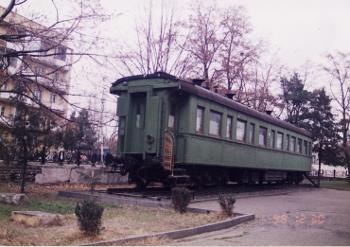 スターリンの乗った列車