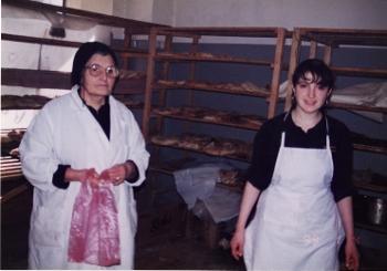 美しいパン屋の娘