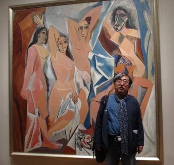 MoMA ピカソ アビニョンの娘たち