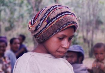 パプアニューギニアの美少女