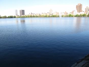 セントラルパーク内ジャクリーヌ池