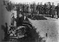 ウンデッド・ニーの虐殺犠牲者の埋葬