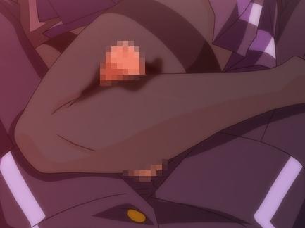 黒タイツ美脚の生徒会長がレ〇プされ性奴隷になる足コキアニメの脚フェチDVD画像4