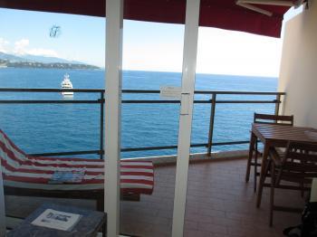 モナコ ホテルからの眺め