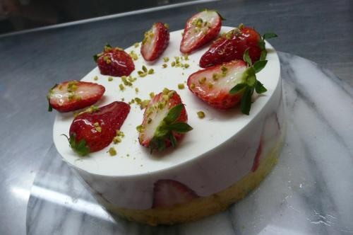 Uさん作 苺のムースケーキ