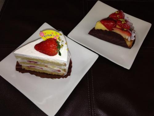 苺のショートケーキ&苺のタルト