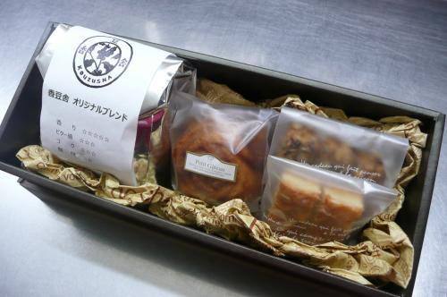 香豆舎さんのコーヒー・焼き菓子・クッキー