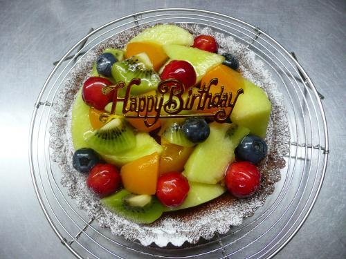 サマーフルーツのタルトdeバースデーケーキ