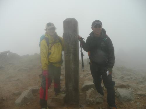 木曽駒ヶ岳・山頂