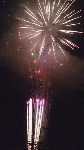下北山・夏祭りの花火