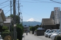 クリニック付近より夏富士