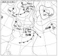 今日の天気図