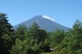 富士ビジターセンターよりの夏富士