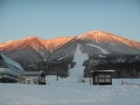 スキー場より