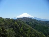 鉄塔からの富士