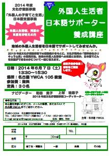 外国人生活者日本語サポーター養成講座