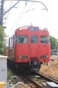 赤い電車。_800