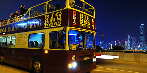 night bus tour