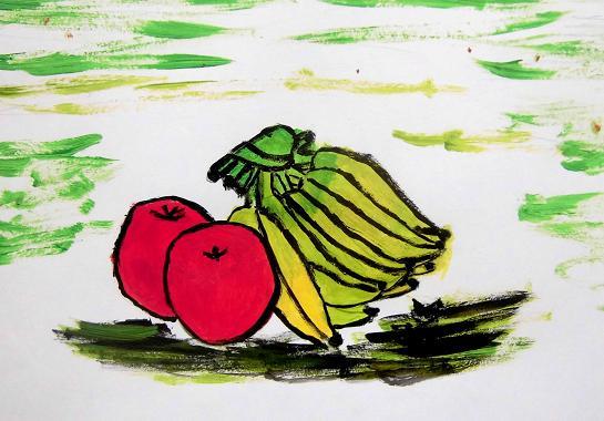 3 14.3.2 絵画教室6期26回目。凱旋門の昼下がり・夢人u (14)