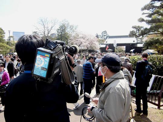 6 14.4.6花見ホノルルマラソン同窓会・皇居 (44)