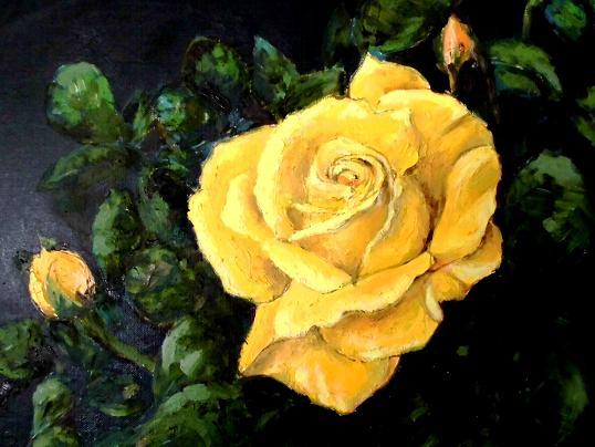 2 黄色のバラCIMG1085
