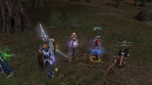イベントの龍武器のエフェクトキレイw