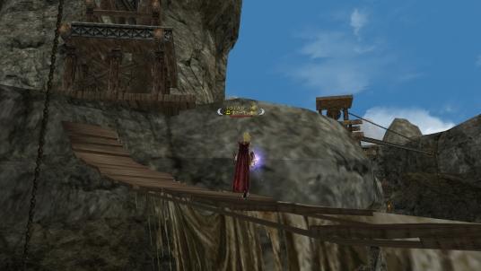 とある場所の吊り橋 その2