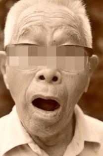 おじいちゃん ビックリ