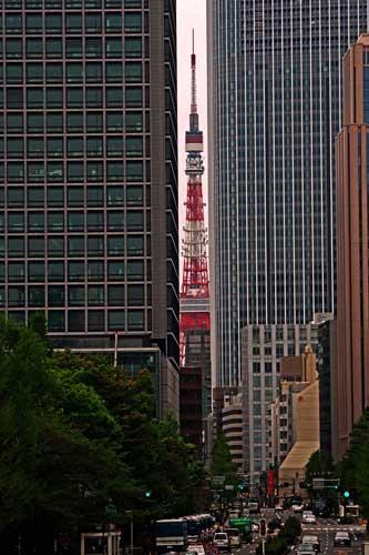 東京タワーの隙間1