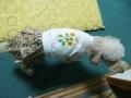 向日葵刺繍入ワンピース (4)