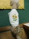 向日葵刺繍入ワンピース (2)